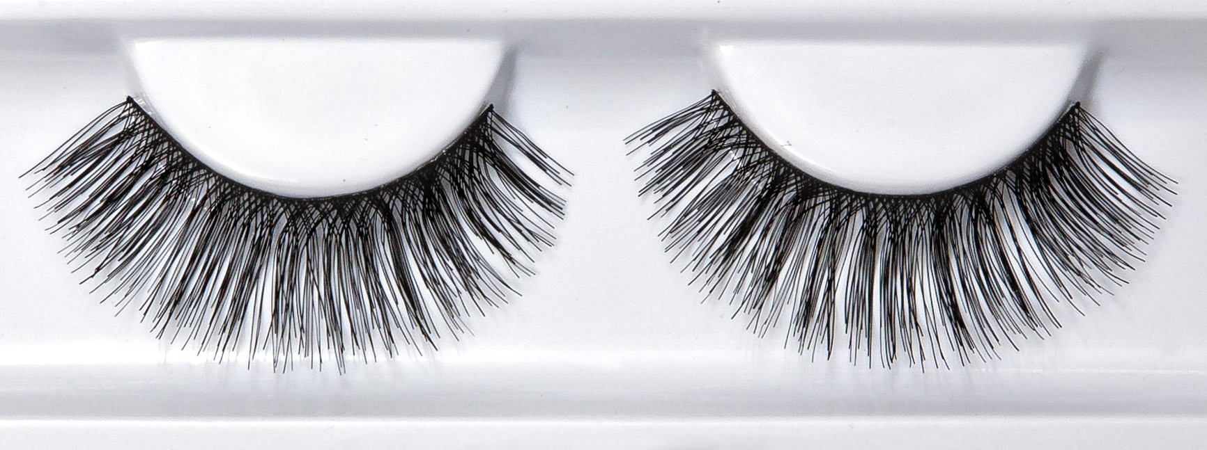 CU of fake eyelashes